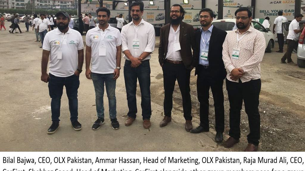 Setting A New benchmark OLX and CARFIRST launched Pakistan's first live auction platform for used cars in Pakistan - Automark