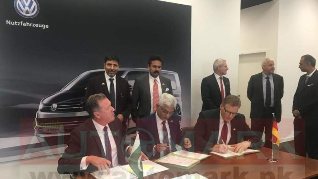 German Volkswagen's commercial vehicles will soon be manufactured/produced in Pakistan - Automark