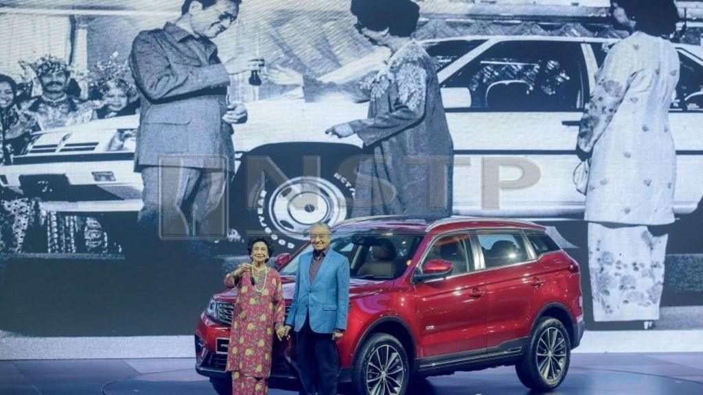 Mahatir launches first Proton X70 SUV in Malaysia with sub-RM100K Price tag - Automark