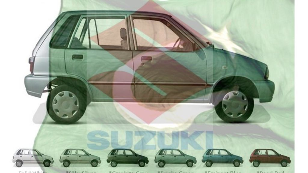Pak Suzuki resume the production of Mehran VX Limited Edition in Pakistan - Automark