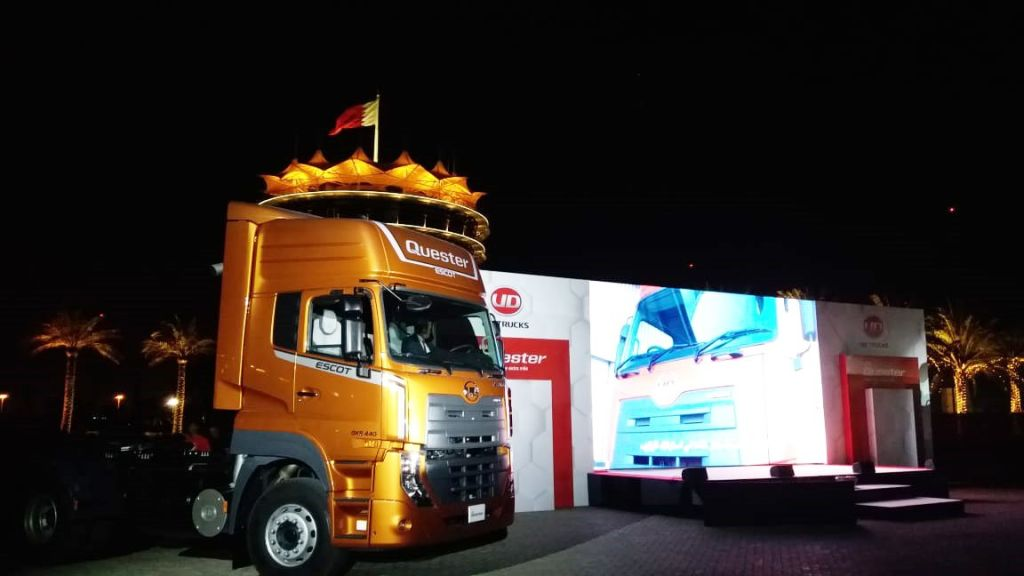 UD Trucks launches New Quester to help companies in the MEENA region overcome business challenges and accelerate growth with Smart Logistics - Automark