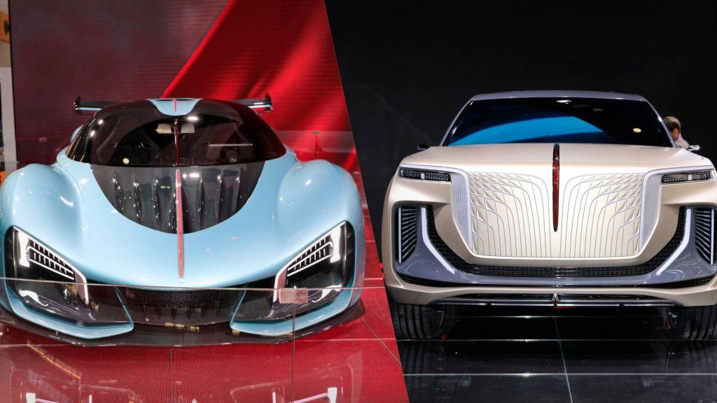 Frankfurt Motor Show: Hongqi E115 electric SUV concept - Automark