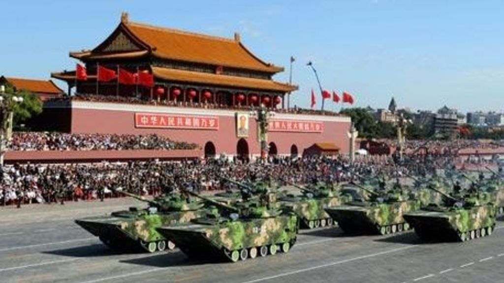 China Celebrates 70 Years Of Being A Communist Country With A Massive Military Parade - Automark