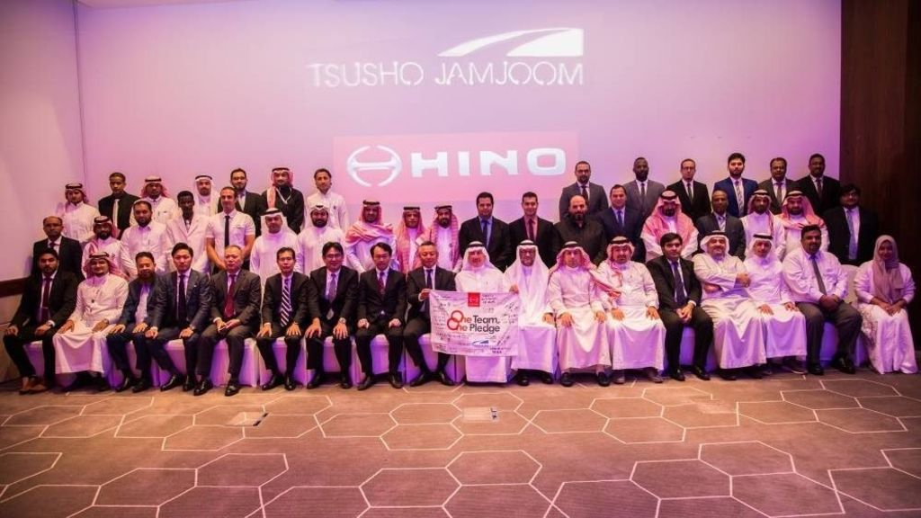 Toyota Tsusho sets up Hino truck wholesaler in Saudi Arabia - Automark