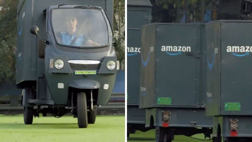 Amazon to roll out 10,000 electric rickshaws in India - Automark