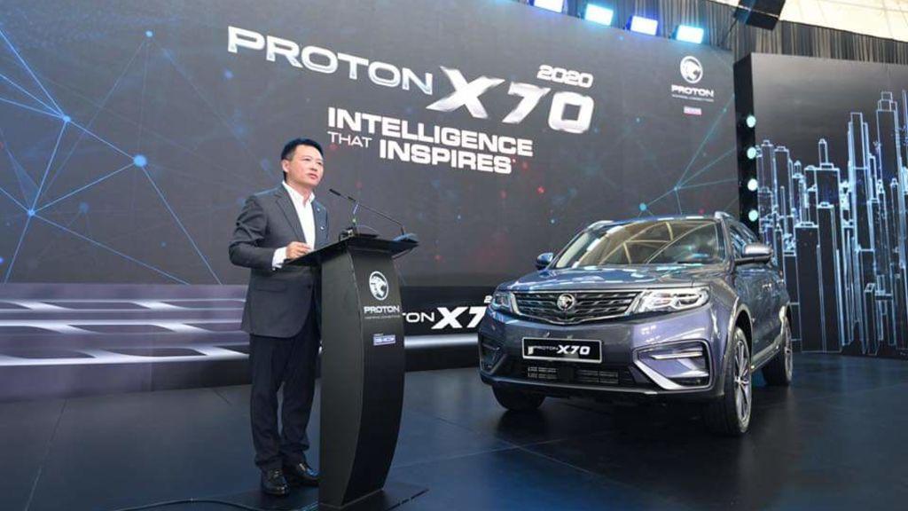 PROTON Launches The 2020 'PROTON X70' - Automark