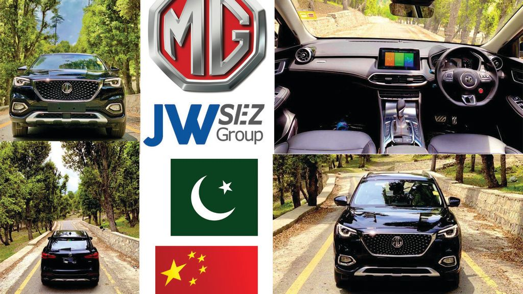 MG HS model of SUV spotted in Kalam Swat, Pakistan for test drive - Automark
