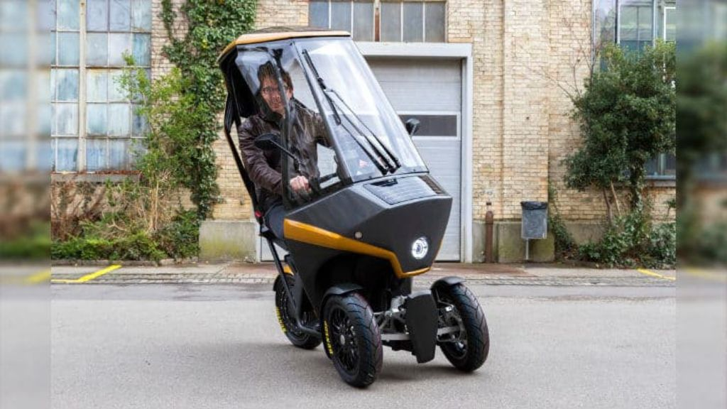 This 3-Wheel Electric Scooter Runs on Solar Power and Will Easily Get You Out of Traffic Jams - Automark