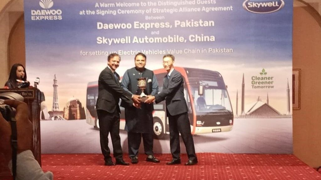 The battery-powered Electric buses to hit the roads soon: Fawad Chaudhry - Automark