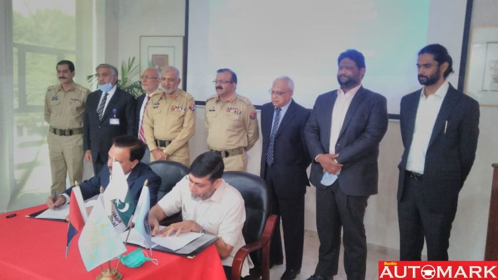 Mou – Signed for Electric Vehicles manufacturing / assembly plant in Pakistan - Automark