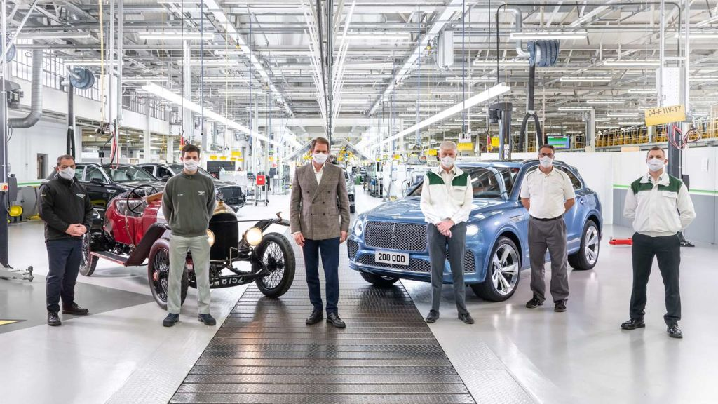Bentley's 200,000th car has left the factory, and it's a hybrid - Automark