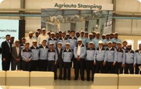 Inauguration of Agriauto Stamping Company at Port Qasim in Karachi