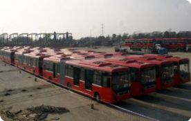 First batch of metro buses arrives