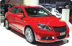 Suzuki Kizashi Reviewing Suzuki's Luxurious Sports Sedan