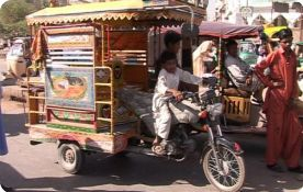 Motorcycle Rickshaws banned in Sindh once again
