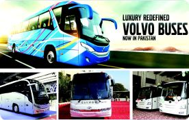 Luxury buses for intercity routes in Pakistan