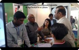 Italian Development Committee at AgriTech2018 in Lahore