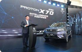 PROTON Launches The 2020 'PROTON X70'