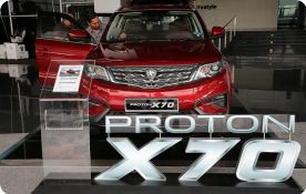 Geely eyes region with Proton brand