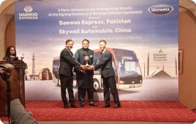 The battery-powered Electric buses to hit the roads soon: Fawad Chaudhry