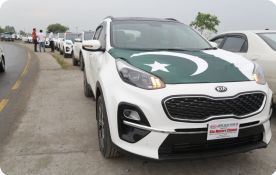 Kia Sportage Takmeel-e-Pakistan Rally held in Azad Kashmir