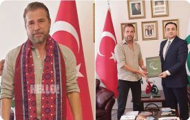Ertugrul Ghazi star visits Pakistani consulate in Istanbul