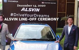 First 'Changan Alsvin Sedan Car' Line-off Ceremony held at Karachi Plant