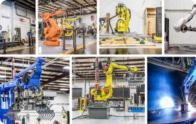 Skillfulness Analysis in Manufacturing Line with Industrial Robots and Human; Production Volume Increase by Robots
