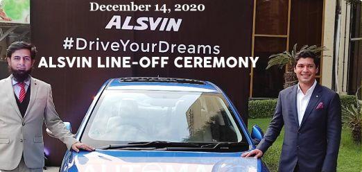 First 'Changan Alsvin Sedan Car' Line-off Ceremony held at Karachi Plant