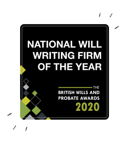 National Will Writing Firm of the Year 2020 award