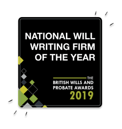 National Will Writing Firm of the Year 2019 award