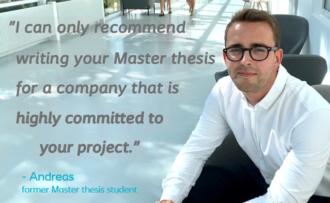 Andreas Nielsen Master Thesis Student at Coloplast