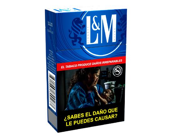Cigarrillo L&M Blue Label X 20