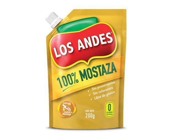 Los Andes Mostaza 200 G