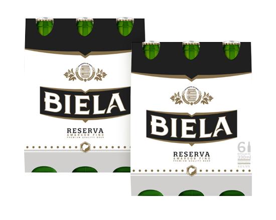 2 Six Pack Biela Reserva Botella - 12 Unidades