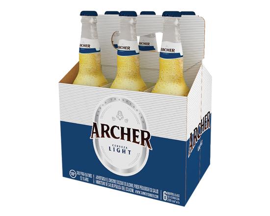 Cerveza Archer Ligth 330Ml Six Pack