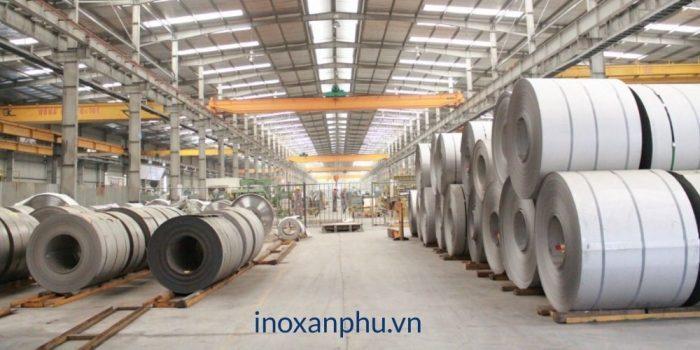 Quy trình sản xuất inox