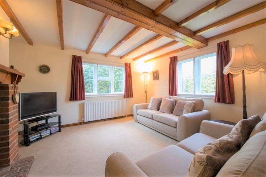 Bright comfortable sitting room