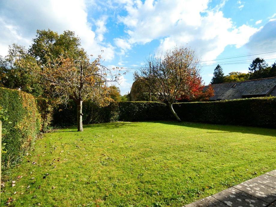 Splendid front garden, offering the choice which garden to relax in