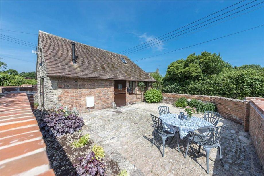 Pound Cottage garden area