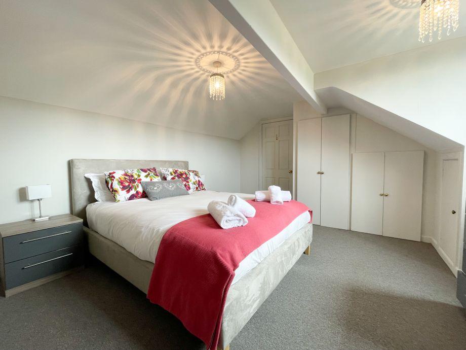 Delightful second bedroom on the first floor