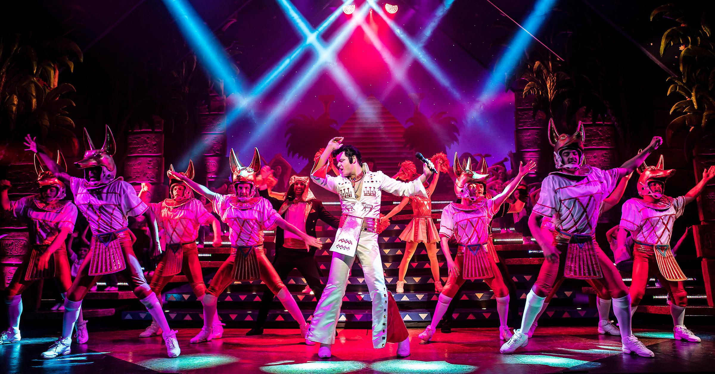Joseph and the Amazing Technicolor Dreamcoat at New Wimbledon Theatre