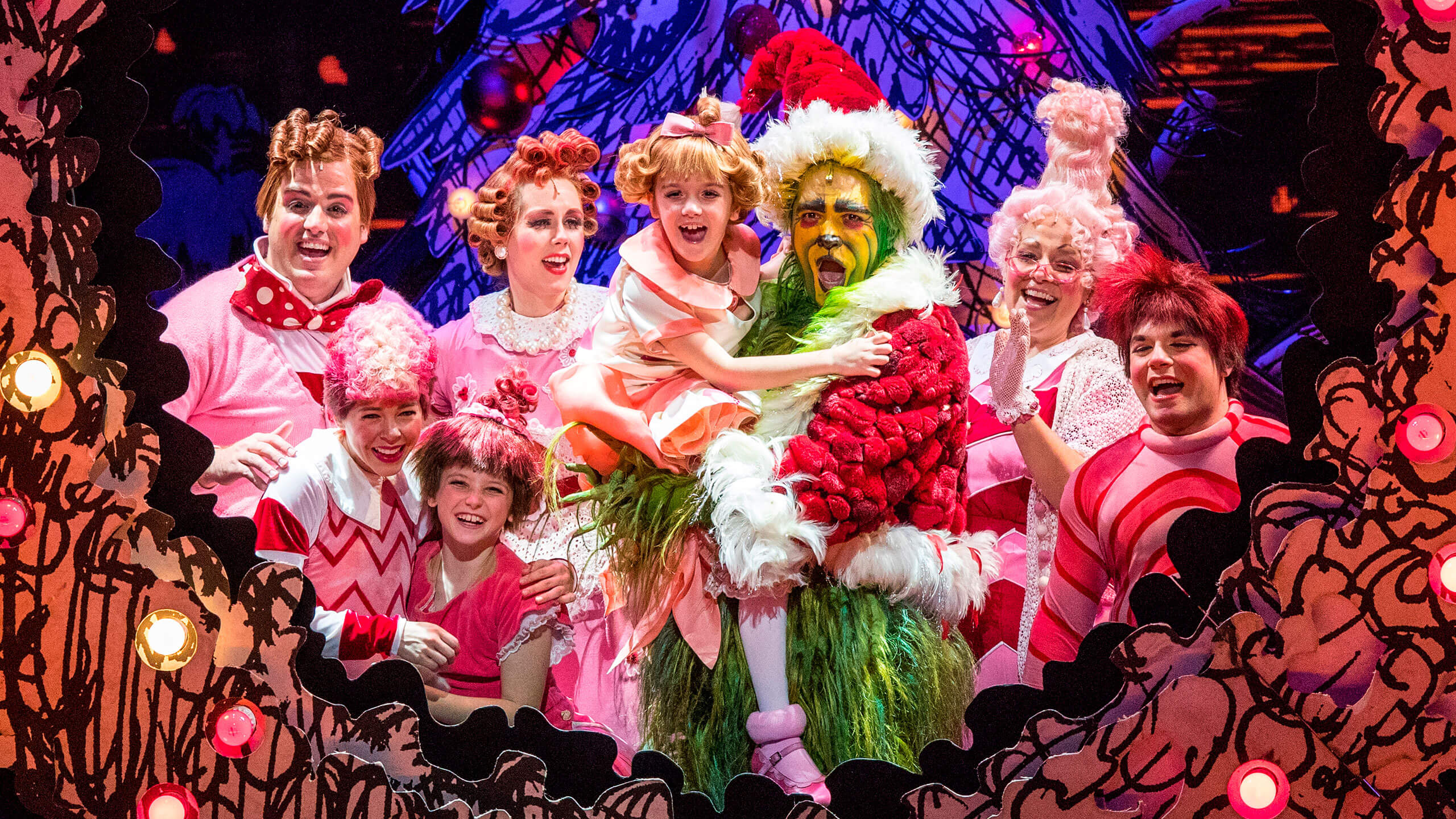 How The Grinch Stole Christmas at New Wimbledon Theatre