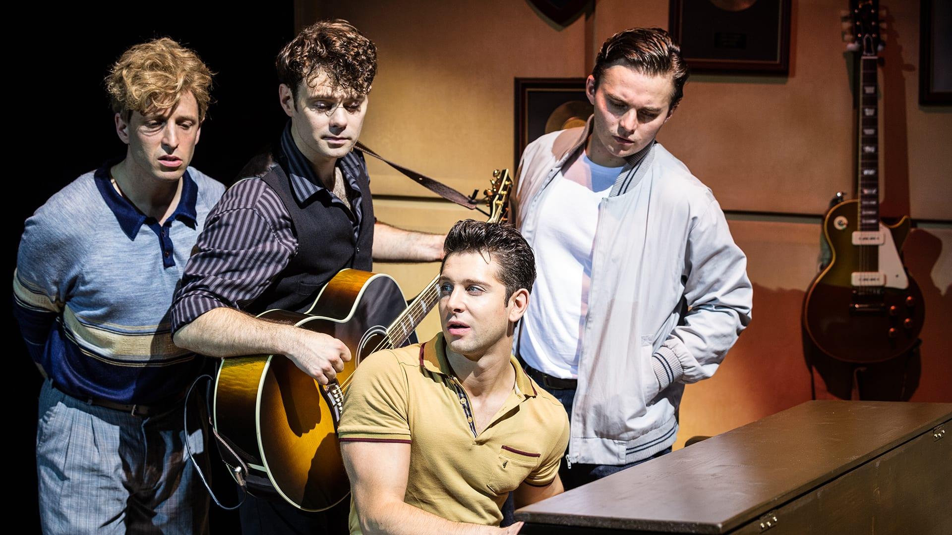 Million Dollar Quartet at New Wimbledon Theatre