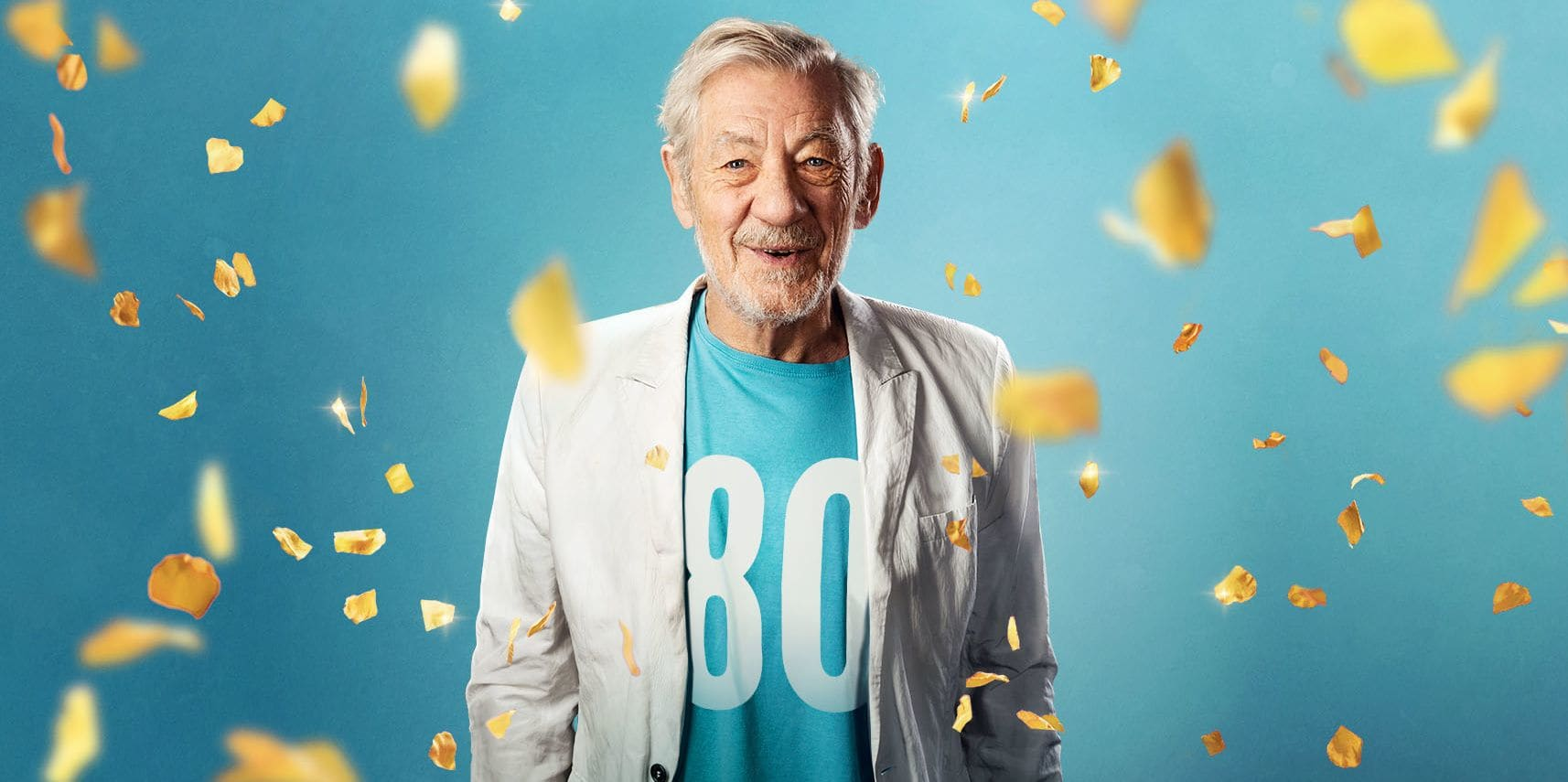 Ian McKellen at 80 Prod Shot