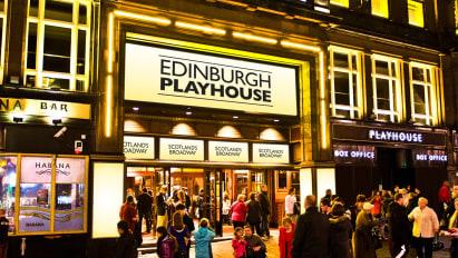 Edinburgh Playhouse Outside
