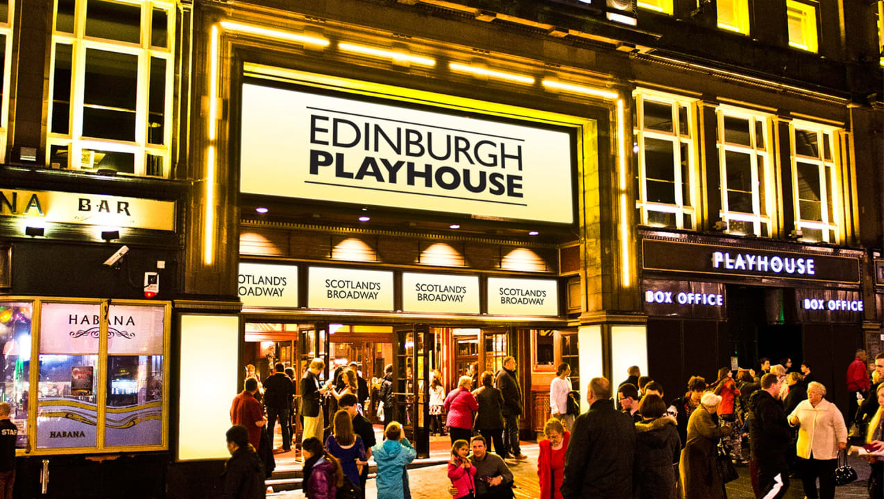 Edinburgh Playhouse Outside