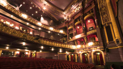 Palace Theatre Manchester Internal