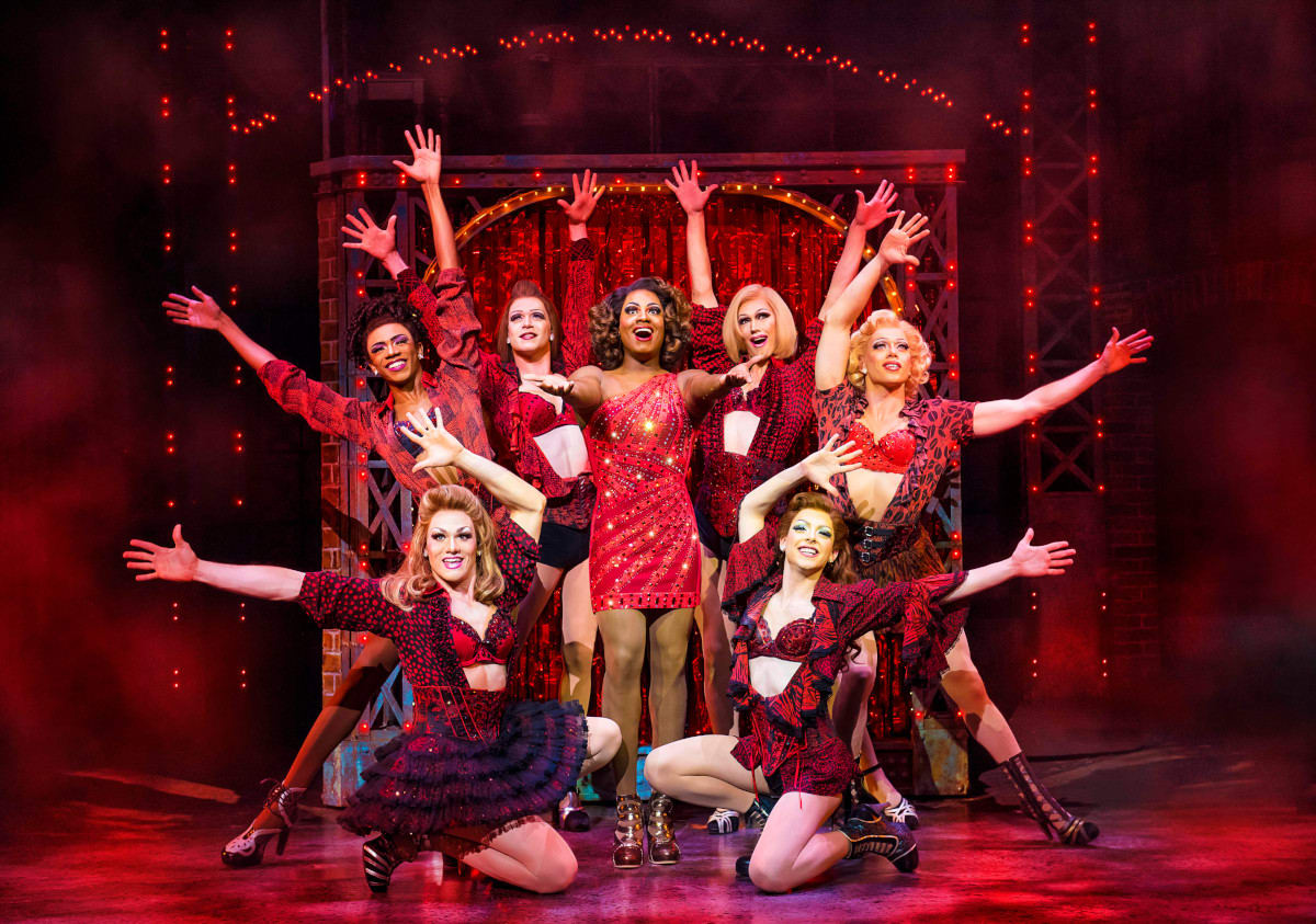 Kinky Boots Production Shot