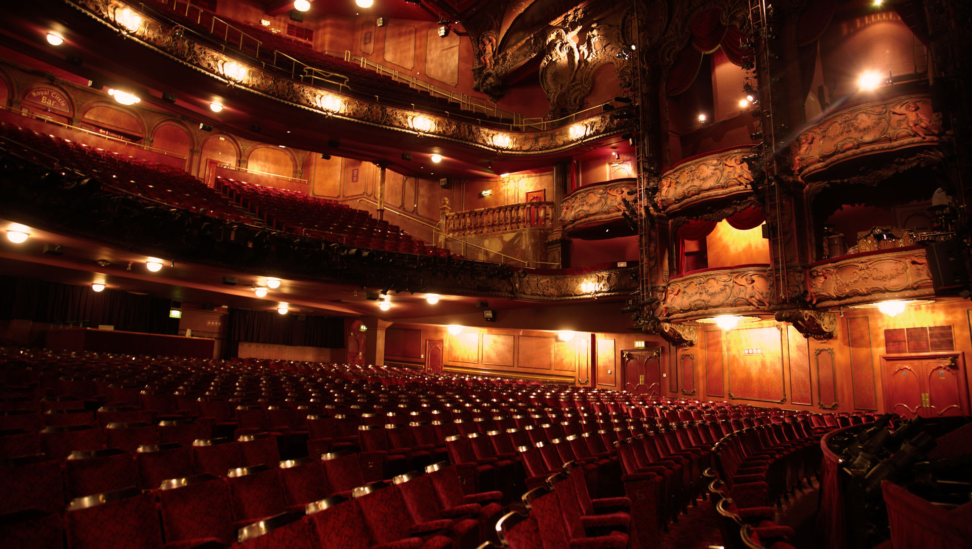 Lyceum Auditorium Side